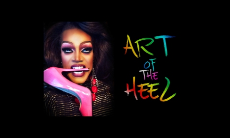 art of the heel cover photo biting black airbrush